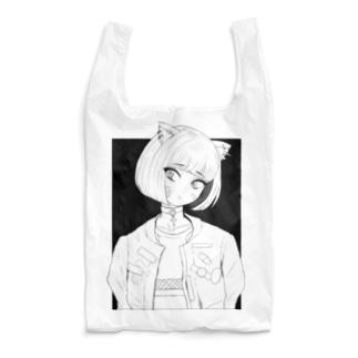 弱気ネコガール Reusable Bag