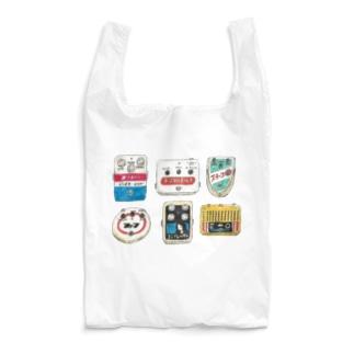 レトロ看板風エフェクター Reusable Bag
