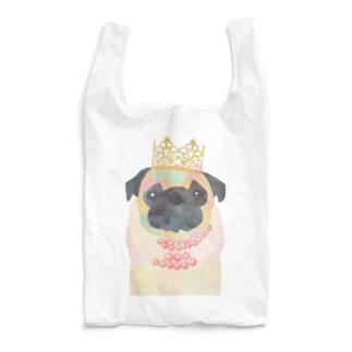 Rin5のprinces of pug Reusable Bag