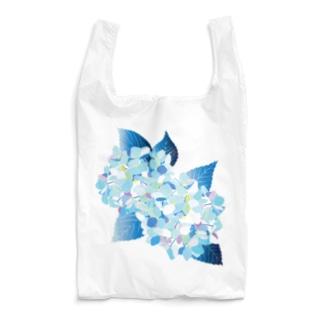 無孔笛の紫陽花 Reusable Bag