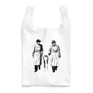 捕まったネコ(モアレ) Reusable Bag