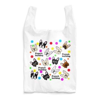 ドット柄フレブル Reusable Bag