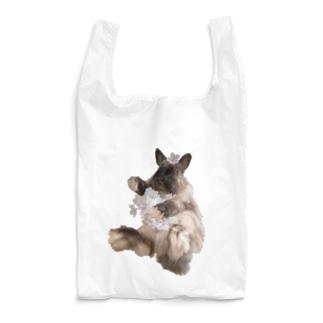 桜とうさぎ Reusable Bag