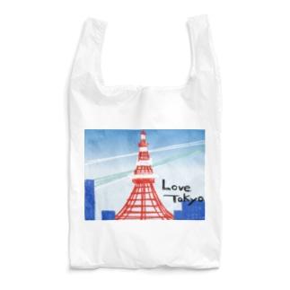 love:東京タワー Reusable Bag
