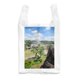 日本の城:甲府城稲荷櫓の風景写真 Japanese castle: Inariyagura of Kofu castle Reusable Bag