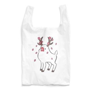 鹿ぶんちょう~サクラチル~ Reusable Bag