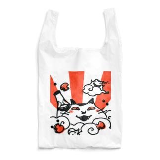 ねこ日の出 Reusable Bag
