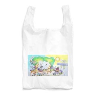 ご地層の上のふたり Reusable Bag