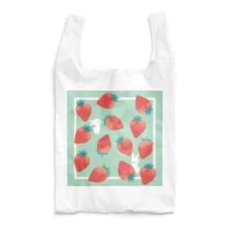 いちごうさぎちゃん Reusable Bag
