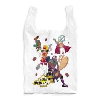 食卓戦隊炊飯ジャー(赤飯舞うVer.) Reusable Bag