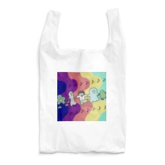 ぼんじりの雑貨やさんの🎶みんななかよし🎶 Reusable Bag
