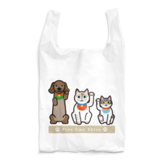 ラッキートリオ Reusable Bag