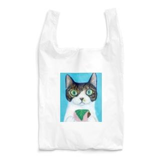 のっぴきならない/保護猫モッチー Reusable Bag