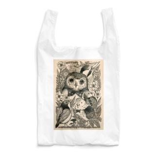 フクロウ Reusable Bag