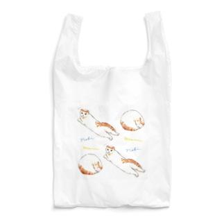 のびまるのびまる しかくver. Reusable Bag