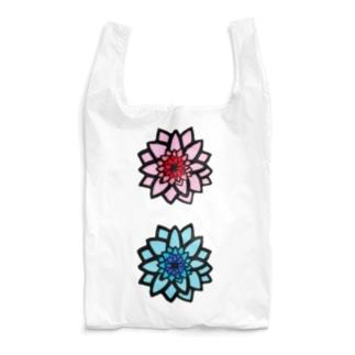 ブルー&ピンク Reusable Bag
