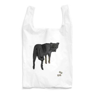 ラム犬とおやつ(色つきver) Reusable Bag