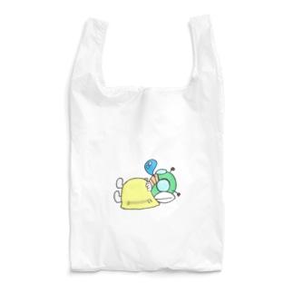 仮眠ライダー(イエロー) Reusable Bag