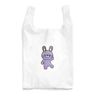 ゾンビみたいな色のうさぎ Reusable Bag