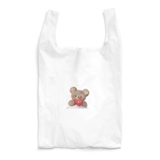 くまのクリームソーダ 緑 Reusable Bag
