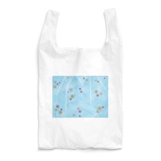 謎柄の和風グッズA(空色) / Japanese style goods A inspired by escape room (Light blue) Reusable Bag