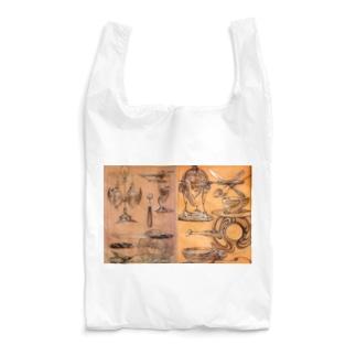 アルフォンス・ミュシャ《習作》 Reusable Bag