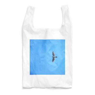 青空にオオタカ Reusable Bag