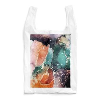 アルコールインクアート Reusable Bag