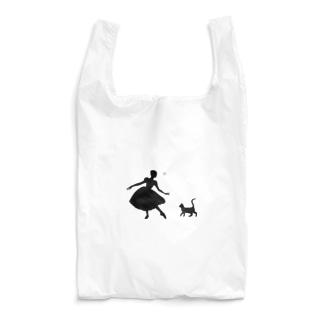ねこ×バレリーナ Reusable Bag