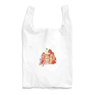 パンケーキとテディベア Reusable Bag