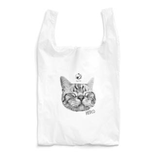 猫カフェラグドールねろモノトーン Reusable Bag