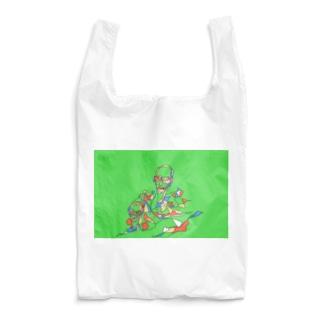 おはじき Reusable Bag
