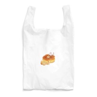 にゃんこ&食《くるみパン》・改 Reusable Bag