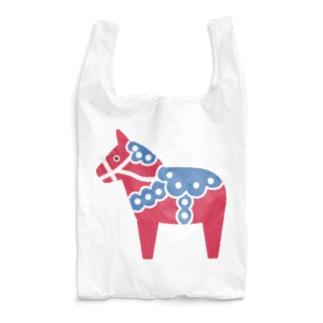 しまめの北欧のお馬さん Reusable Bag