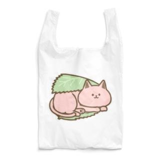 さくらもちにゃんこ Reusable Bag