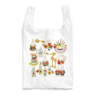 双子うさぎとアリスな小物 Reusable Bag