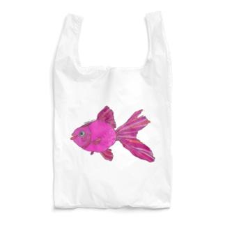 ピンク金魚さん Reusable Bag