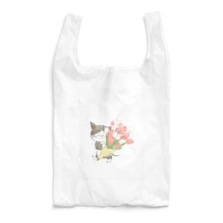 チューリップの花束 Reusable Bag