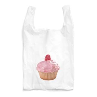 ラズベリーカップケーキ Reusable Bag