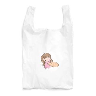 顔拾いました Reusable Bag