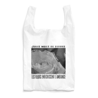 oka__のモノクロ Reusable Bag