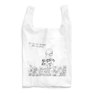 flower & girls Reusable Bag