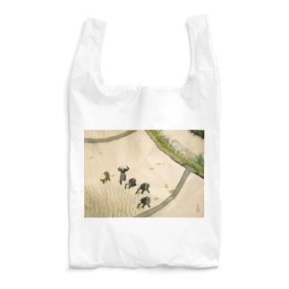 川合玉堂《早乙女》 Reusable Bag