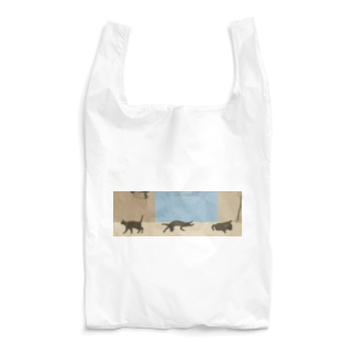 ねこ 心地よいリズム Reusable Bag
