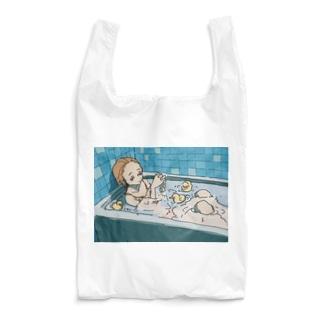 お風呂のアヒル Reusable Bag