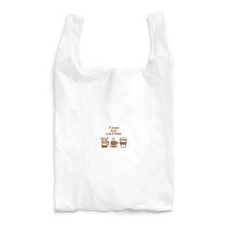 珈琲たいむ Time for coffee Reusable Bag