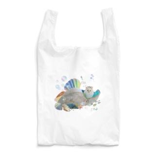 猫カフェラグドールとうふマーメイド Reusable Bag