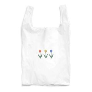 三色チューリップ Reusable Bag