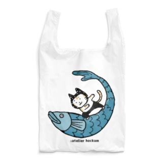 なみのりねこ Reusable Bag