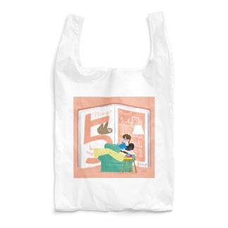 5月生まれの積読消化中、本の虫さん Reusable Bag